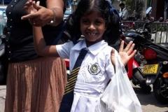 Sesali geht zur Schule